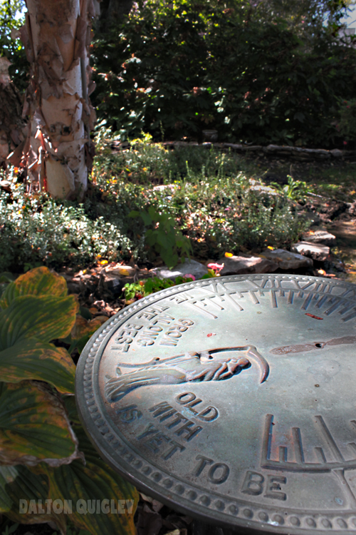 Sundial for Gardens, Landscapes, Time in the Garden