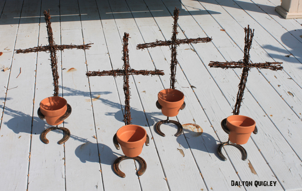 Garden Pot Cross